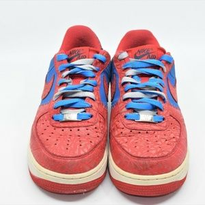 Nike Air Force 1 Low Photo Blue Hyper Red